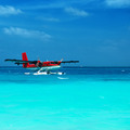 Twin otter seaplane at Maldives - PhotoDune Item for Sale