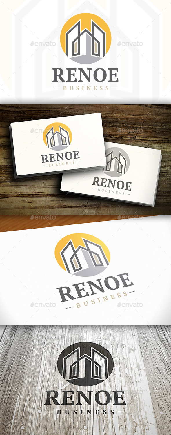 GraphicRiver Renovation Logo 10252474
