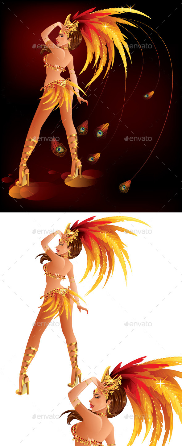 GraphicRiver Carnival Dancer 10168107