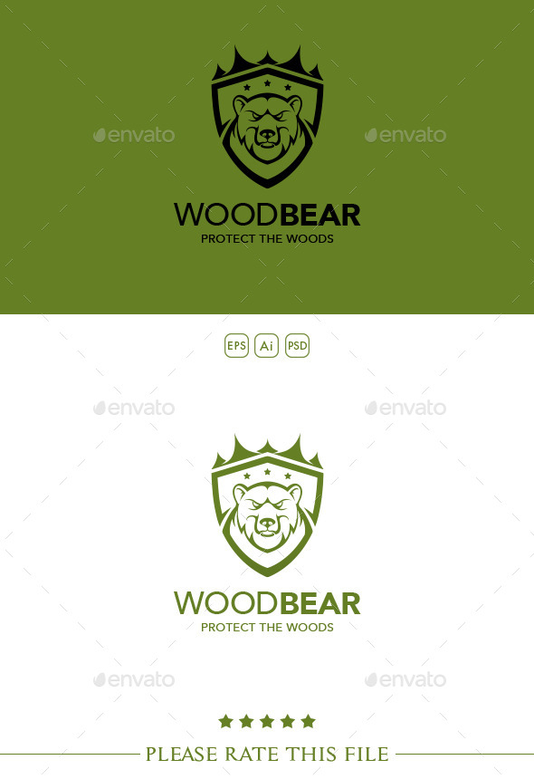 GraphicRiver Bear Logo 10252578