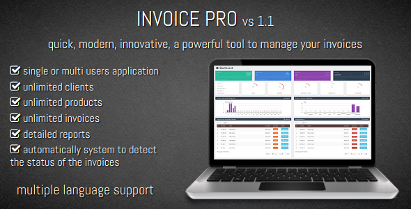 Invoice PRO - CodeCanyon Item for Sale