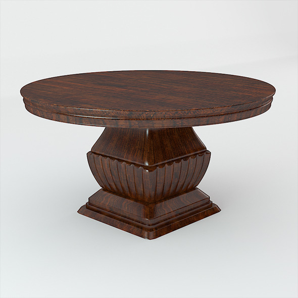 3DOcean Classic Wooden Table 10252693