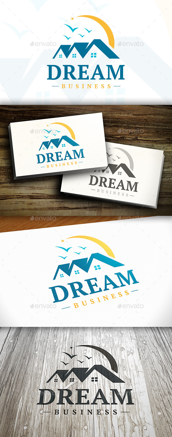 GraphicRiver Dream House Logo 10252773