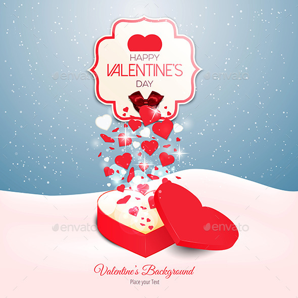 GraphicRiver Valentine`s Day Background 10253019