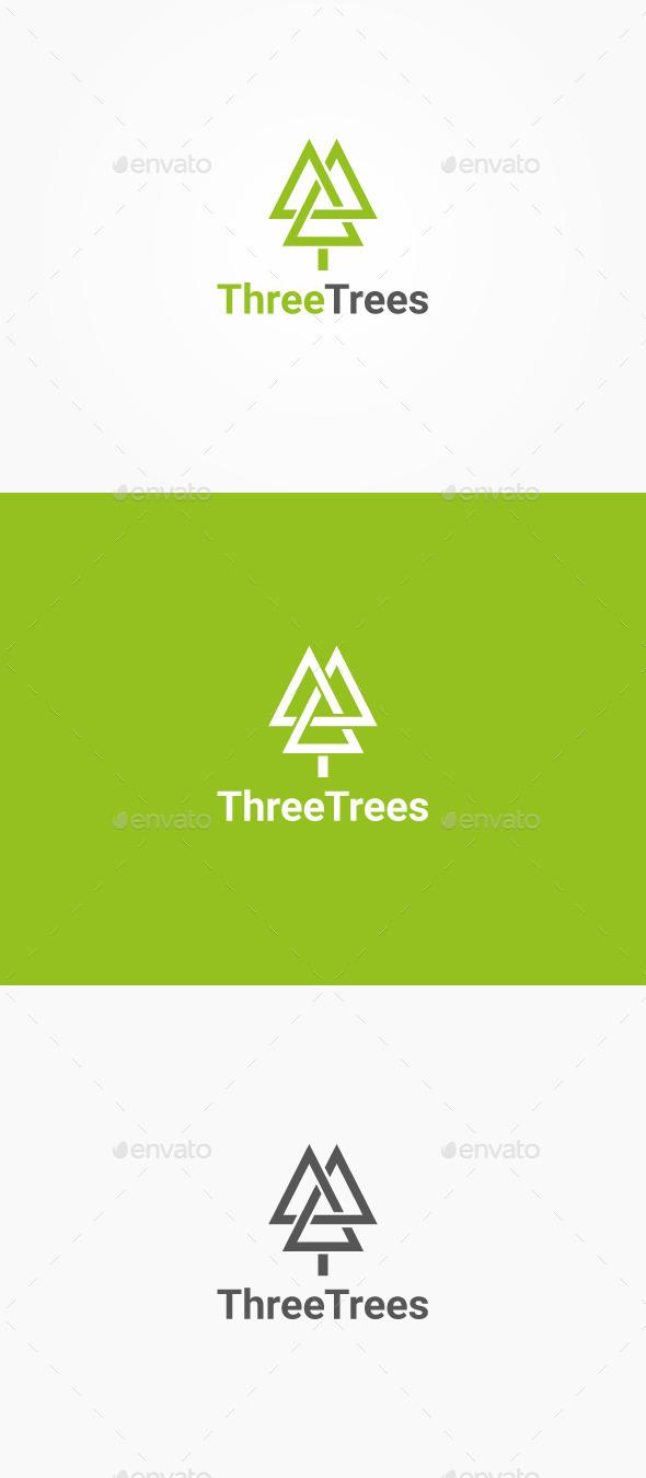 GraphicRiver Three Trees 10253086