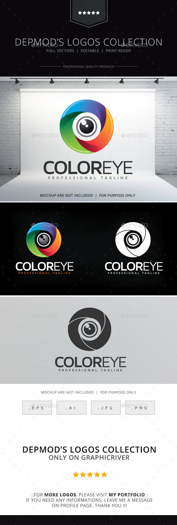 GraphicRiver Color Eye Logo 10253156