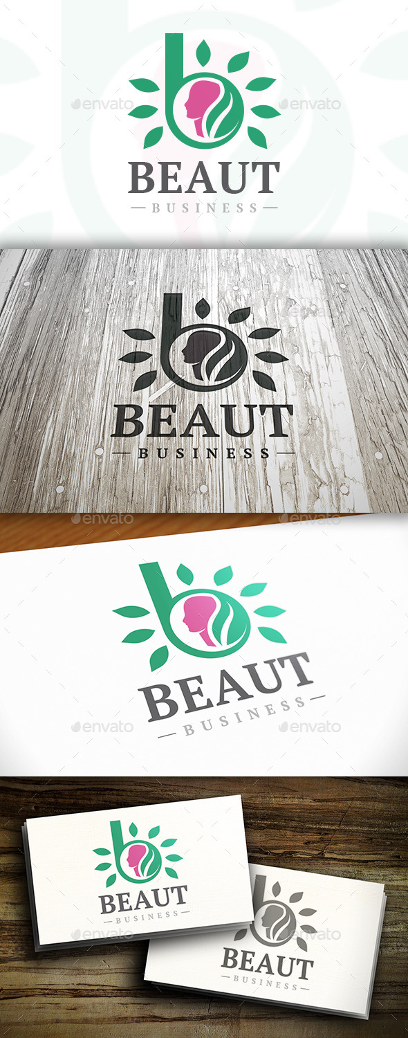GraphicRiver Beauty B Letter Logo 10253325