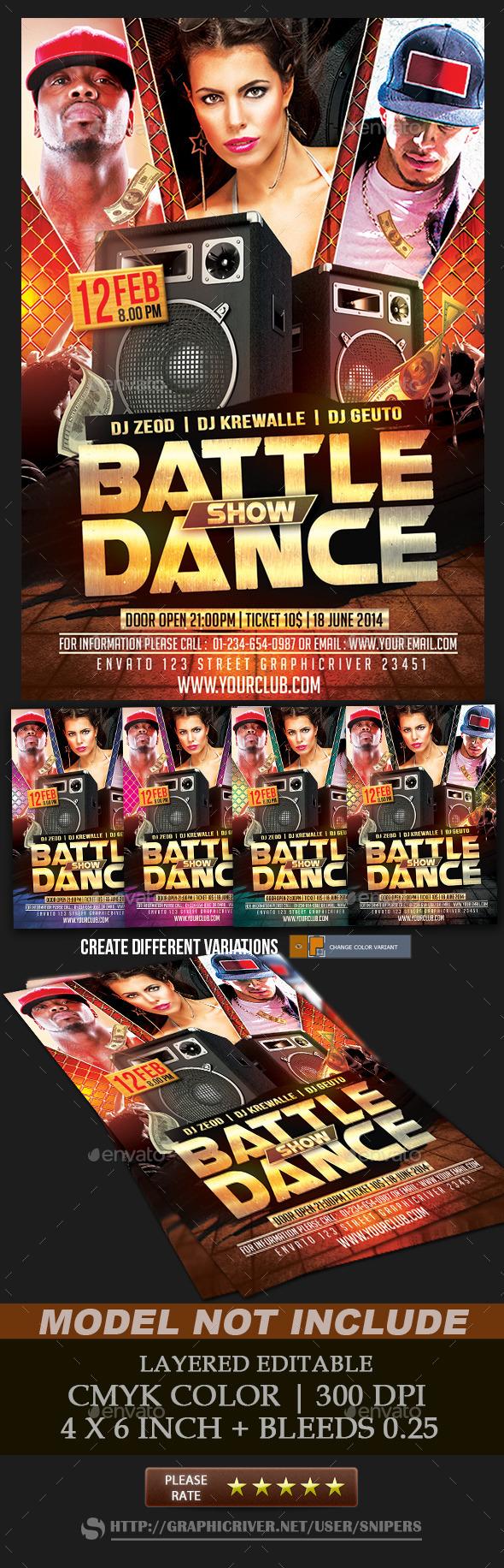 GraphicRiver Battle Show Dance 10253723