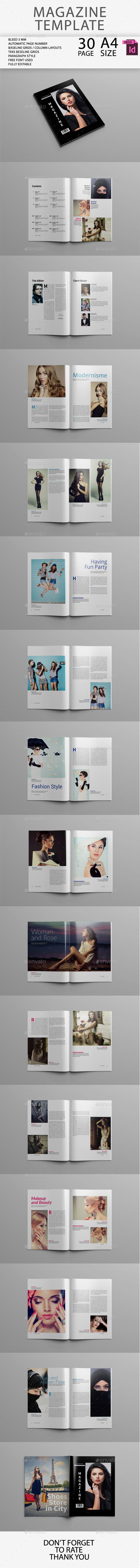 GraphicRiver Magazine Template 10253816