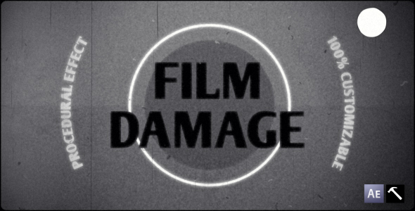 Film Damage VideoHive -   Elements  Overlay  Retro 129368
