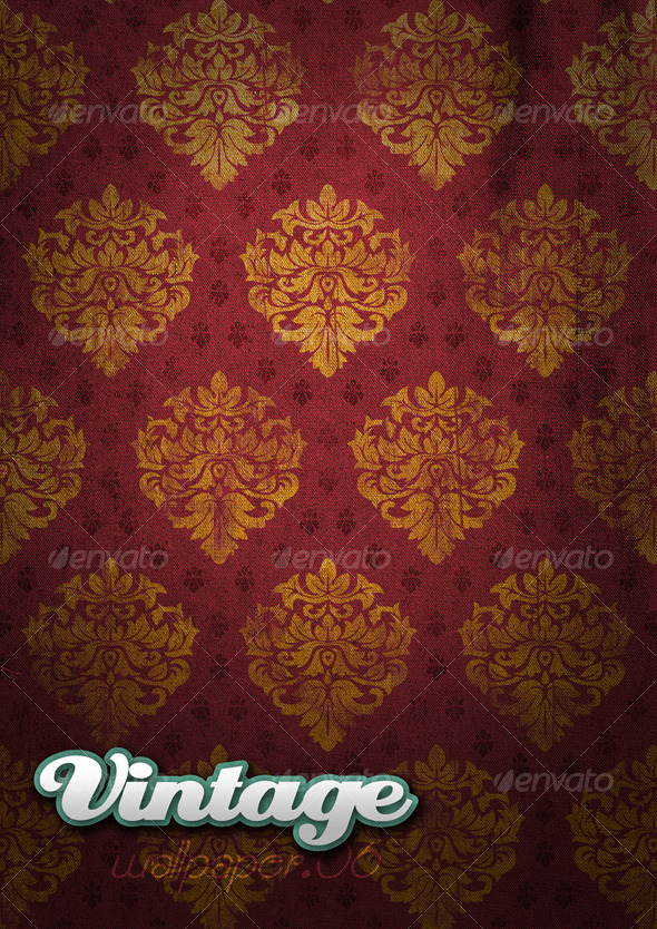 GraphicRiver Vintage Wallpaper 06 129371
