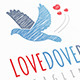 Love Dove Logo - GraphicRiver Item for Sale
