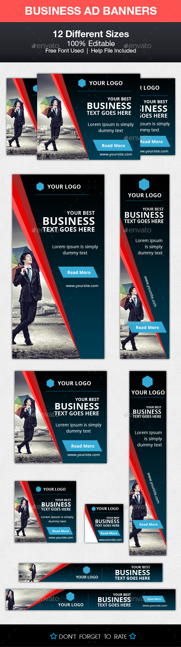 GraphicRiver Business Advert Banners 10254536