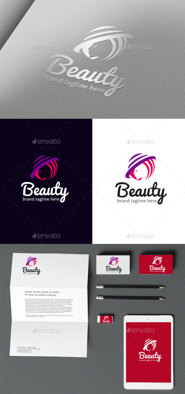 GraphicRiver Beauty Logo 10254767