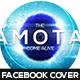 Camotas Futuristic FB Timeline Cover - GraphicRiver Item for Sale