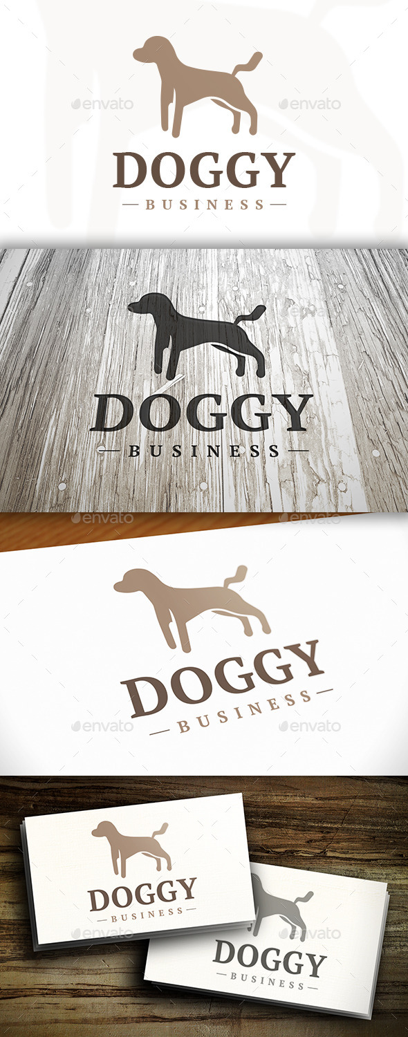GraphicRiver Dog Logo 10254845