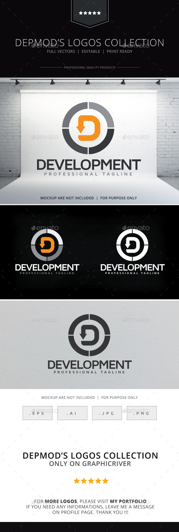 GraphicRiver Development Logo 10254851