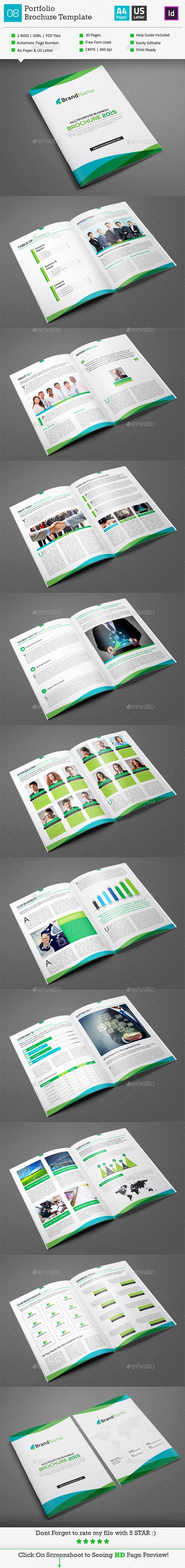 GraphicRiver Multipurpose Brochure Template 02 10255037
