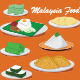 Malaysia Food - GraphicRiver Item for Sale