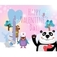 Animals with Hearts on Valentines Day - GraphicRiver Item for Sale