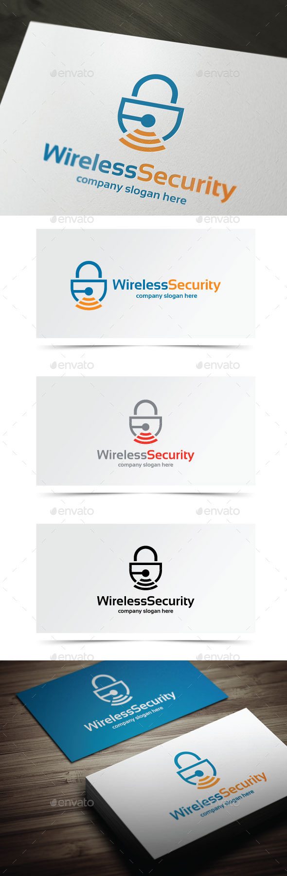 GraphicRiver Wireless Security 10255270