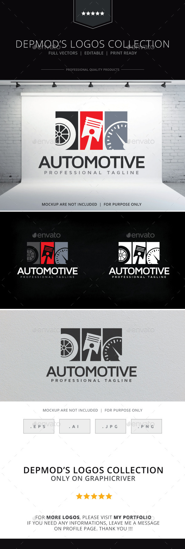 GraphicRiver Automotive Logo 10255304