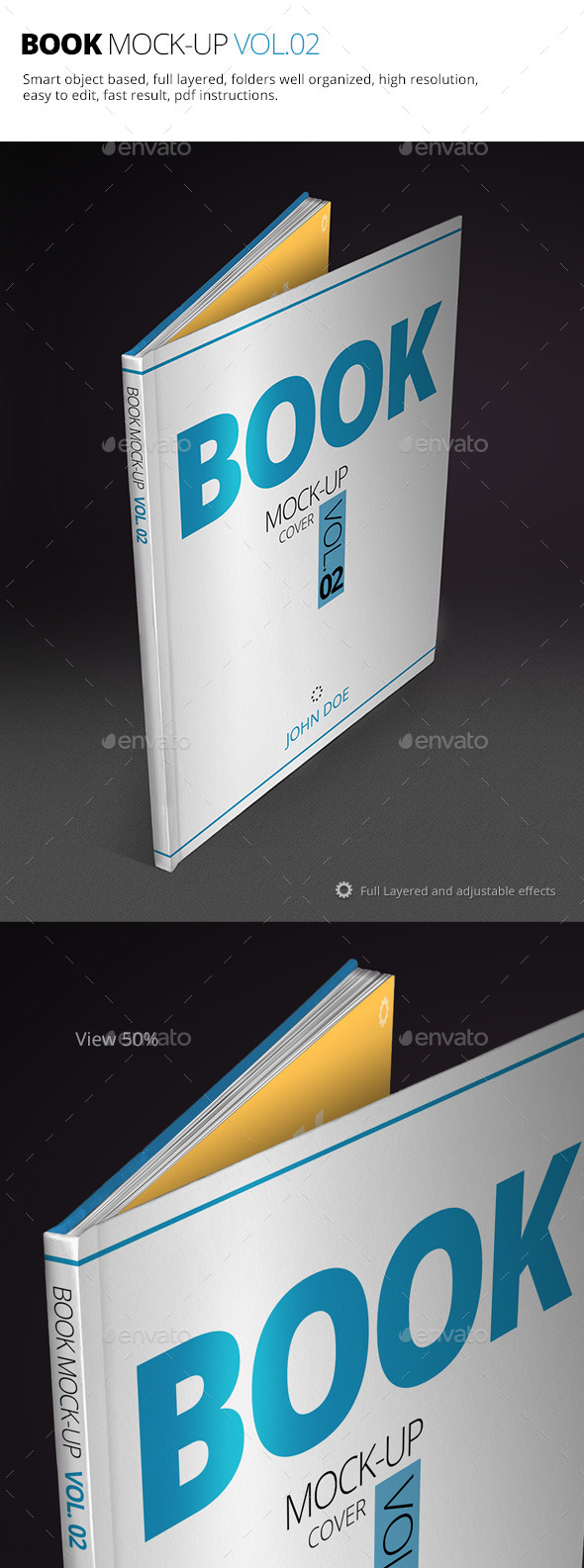 GraphicRiver Book Mock-up Vol.02 10255337