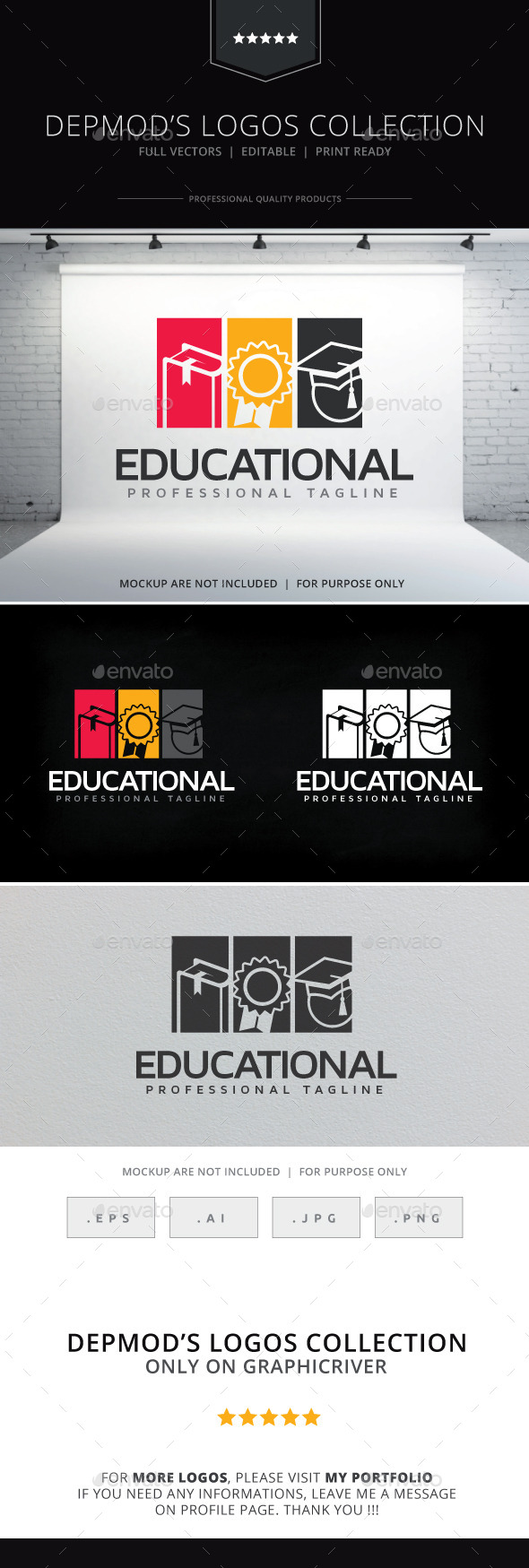 GraphicRiver Educational Logo 10255359