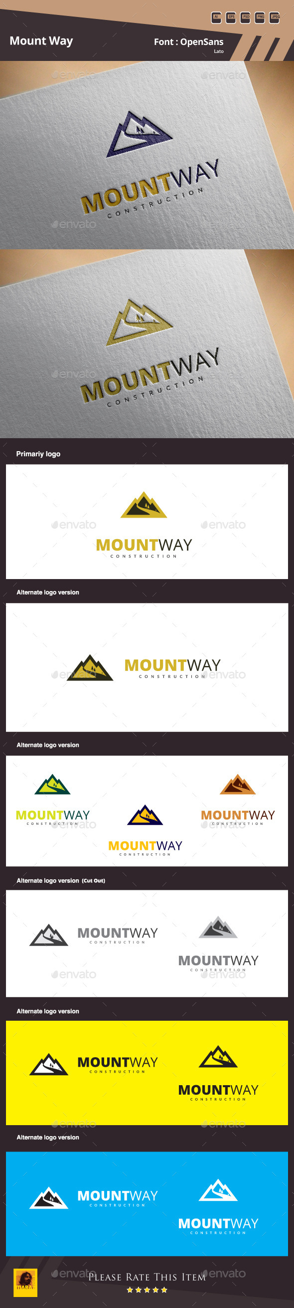 GraphicRiver Mount Way Construction 10255397