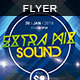 Extra Mix Sound | Flyer - GraphicRiver Item for Sale