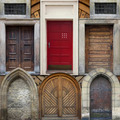 Abstract collage of old doors - PhotoDune Item for Sale