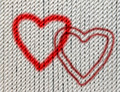 hearts on cotton twine - PhotoDune Item for Sale