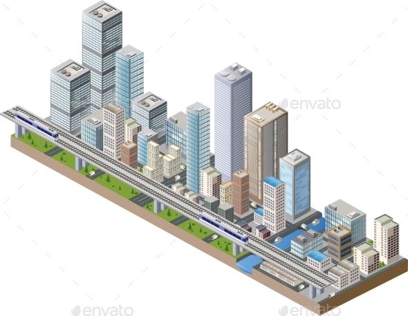 GraphicRiver City Center 10256263
