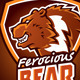Ferocious Bear Logo - GraphicRiver Item for Sale