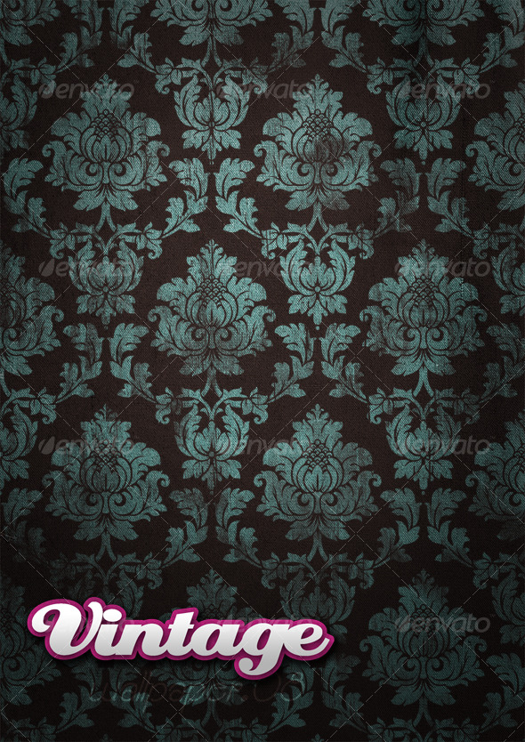 Vintage Wallpaper .08 - Patterns Backgrounds