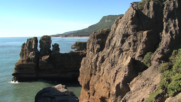 VideoHive Pancake Rocks New-Zealand 14 10256966