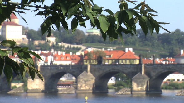 The Legion Bridge Prague