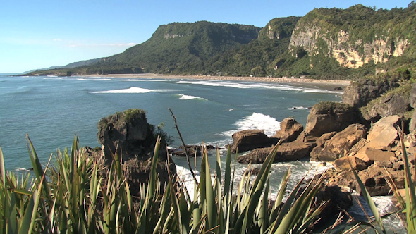 Pancake Rocks New-Zealand 19