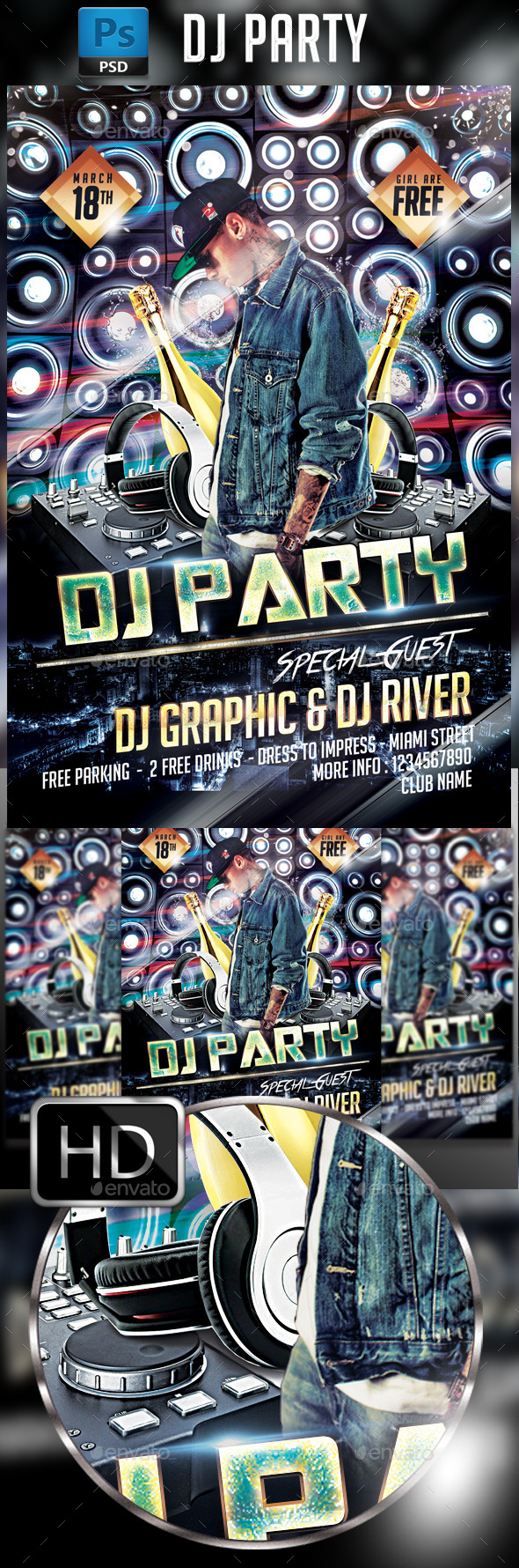 GraphicRiver Guest DJ 10257022