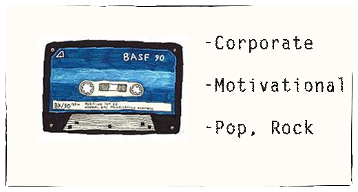 Corporate, Motivational, Pop
