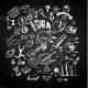 Business Doodles on Blackboard - GraphicRiver Item for Sale