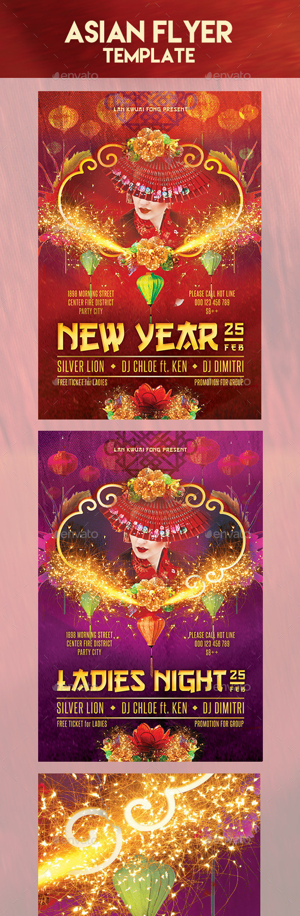 GraphicRiver New Year Party Flyer Template 10257661