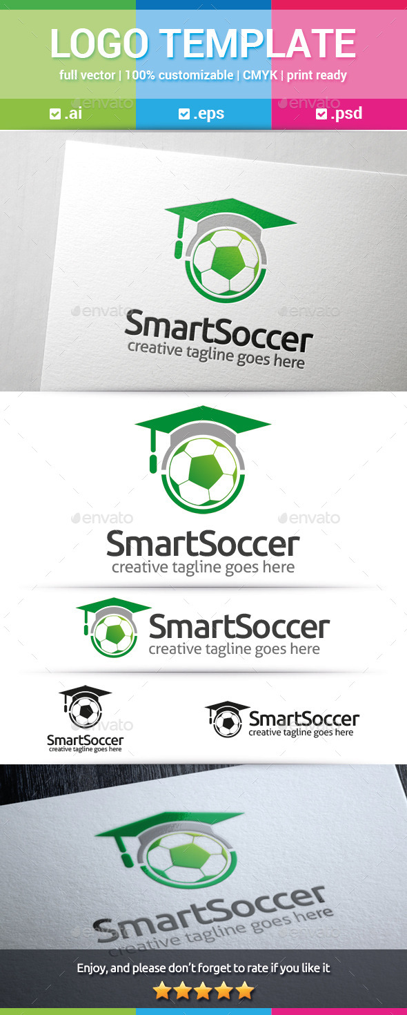 GraphicRiver Smart Soccer Logo 10257974