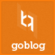 GoBlog - Responsive WordPress Blog Theme - ThemeForest Item for Sale
