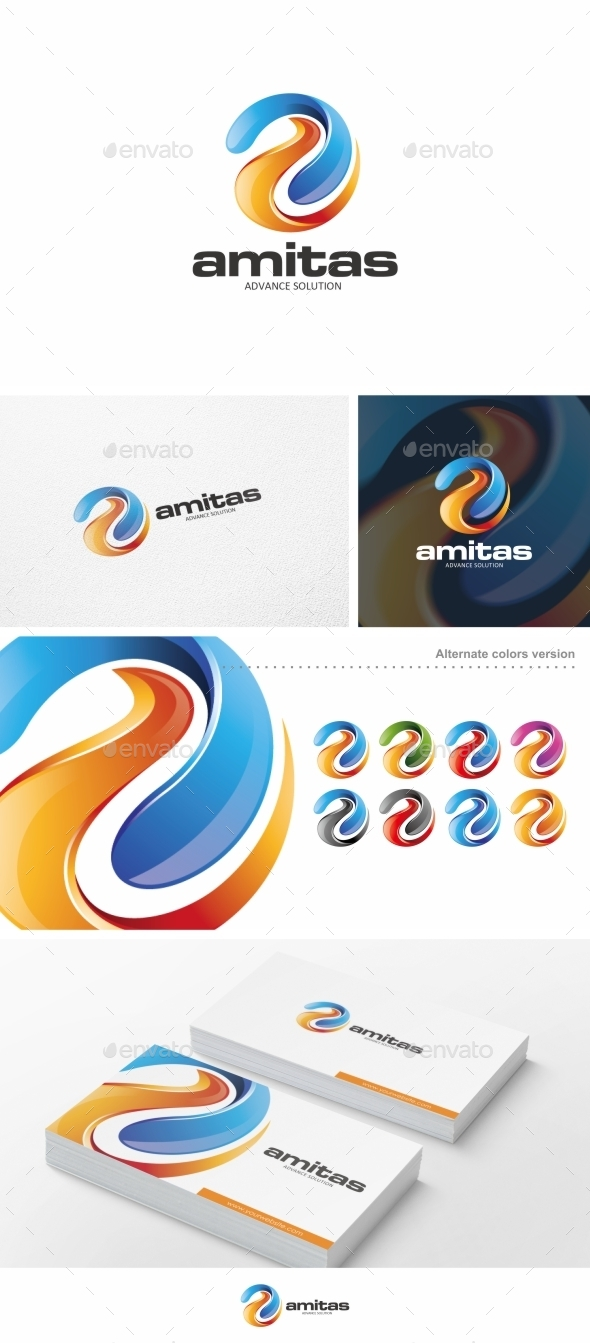 GraphicRiver Amitas Logo Template 10258391