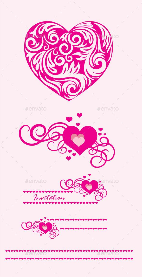 GraphicRiver Heart Ornament 10246318