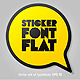 Alphabet in the Form of Stickers - GraphicRiver Item for Sale