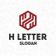 H Letter - GraphicRiver Item for Sale