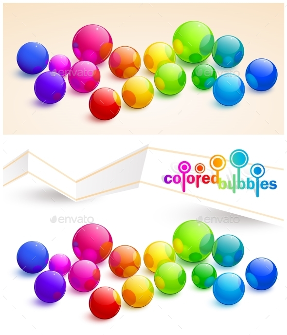 GraphicRiver Colored Bubbles 10258737