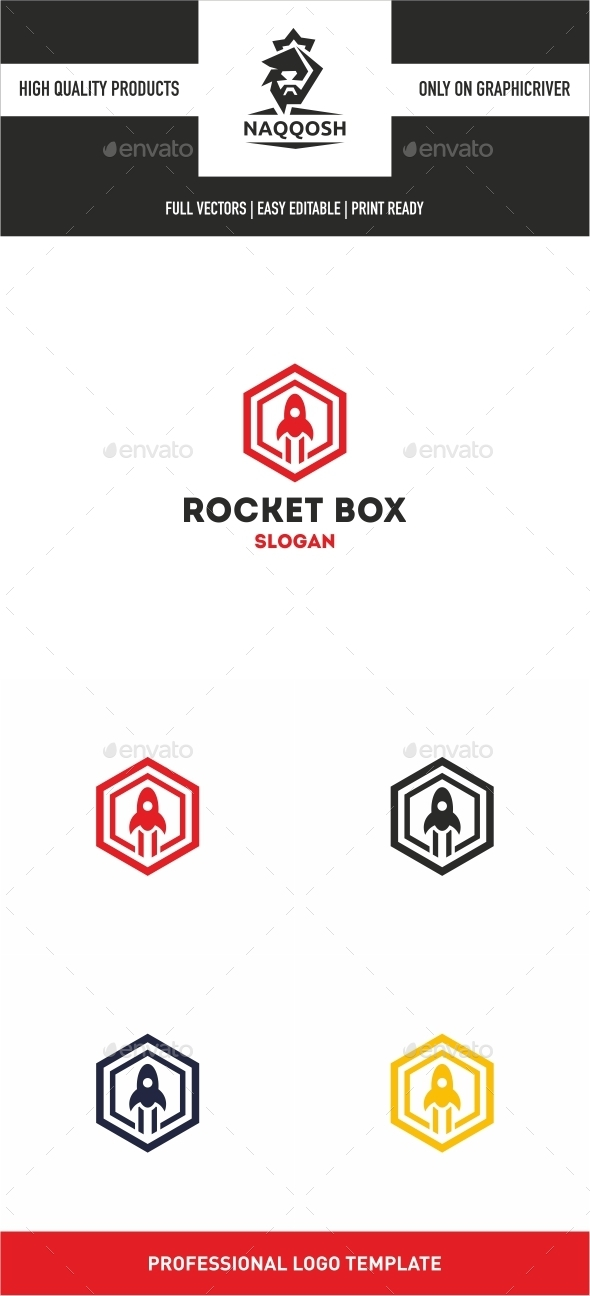 GraphicRiver Rocket Box 10258741